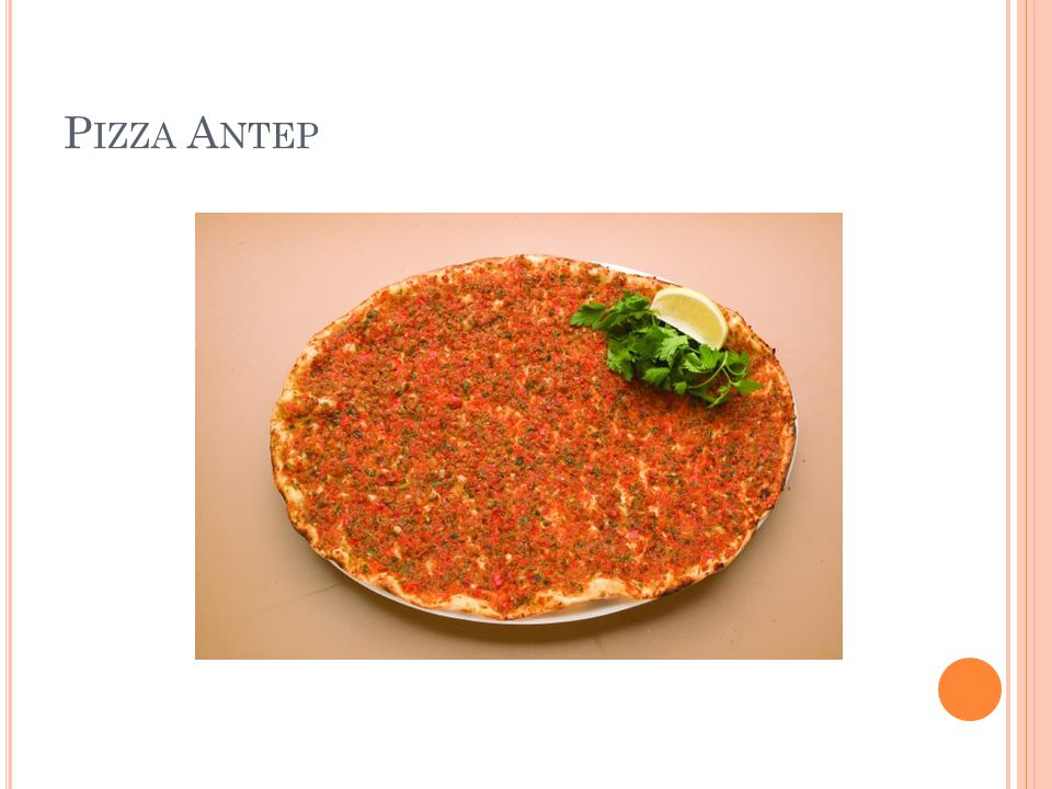 Pizza Antep