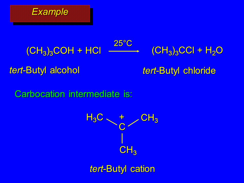 Carbocation intermediate is: