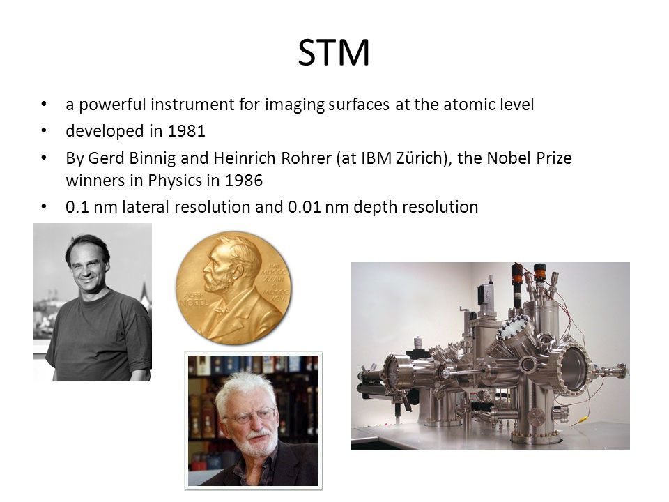 STM a powerful instrument for imaging surfaces at the atomic level