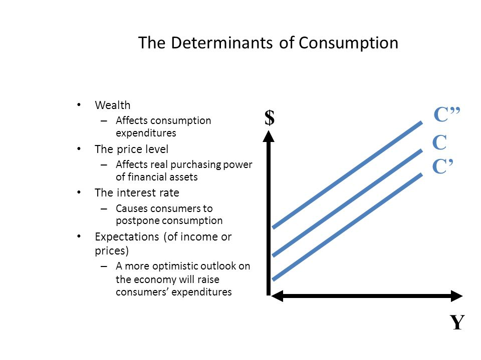 The Determinants of Consumption