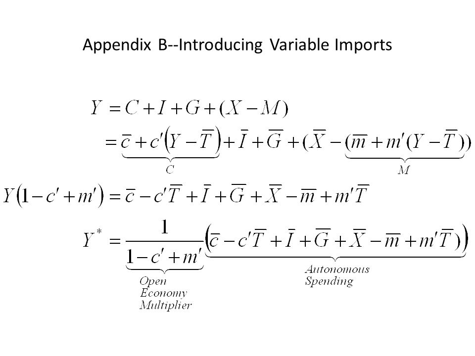 Appendix B--Introducing Variable Imports