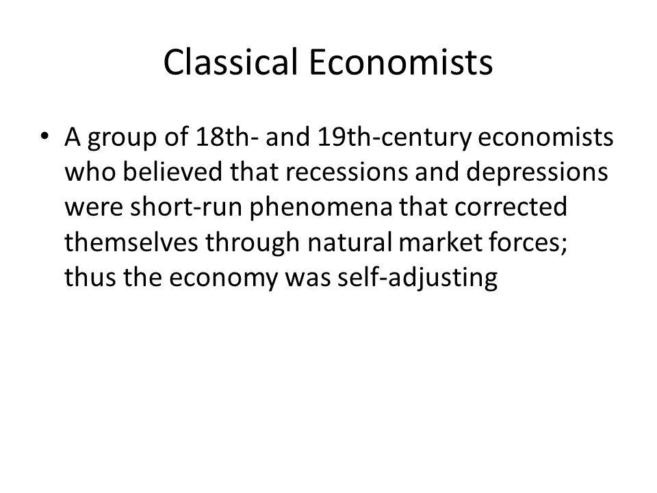Classical Economists