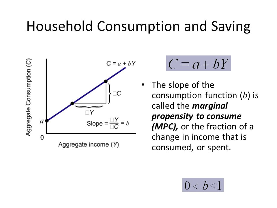 Household Consumption and Saving