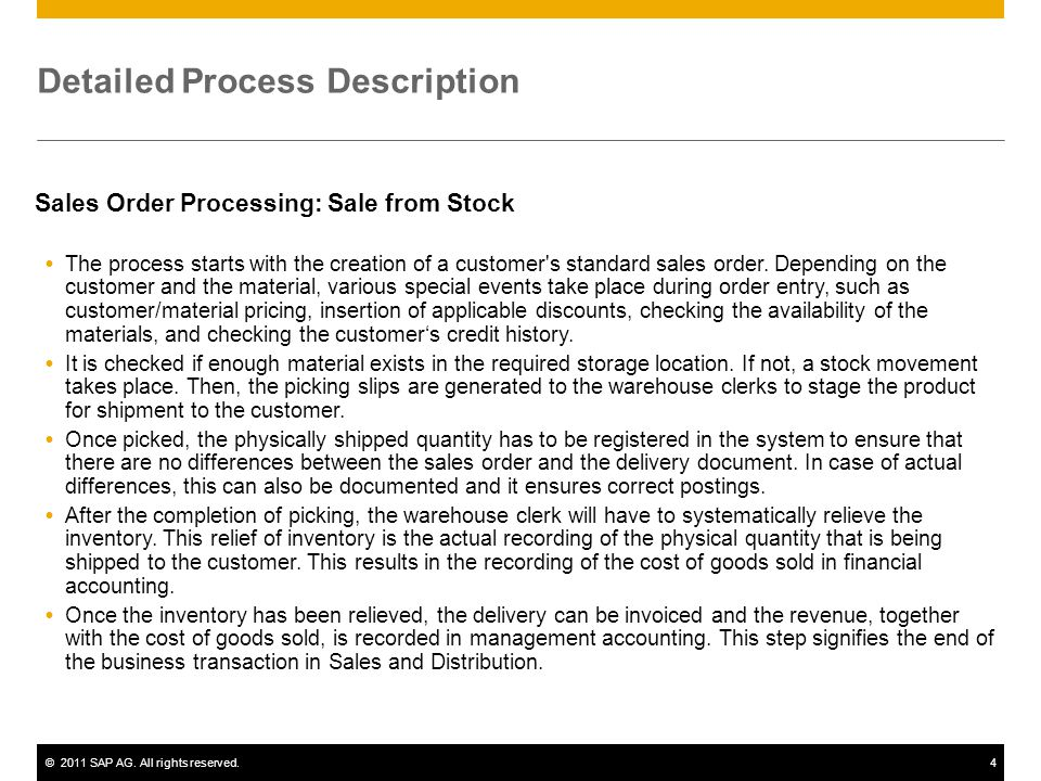 Detailed Process Description