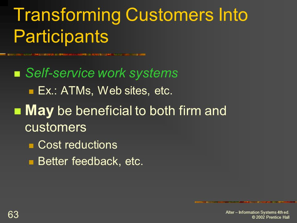 Transforming Customers Into Participants