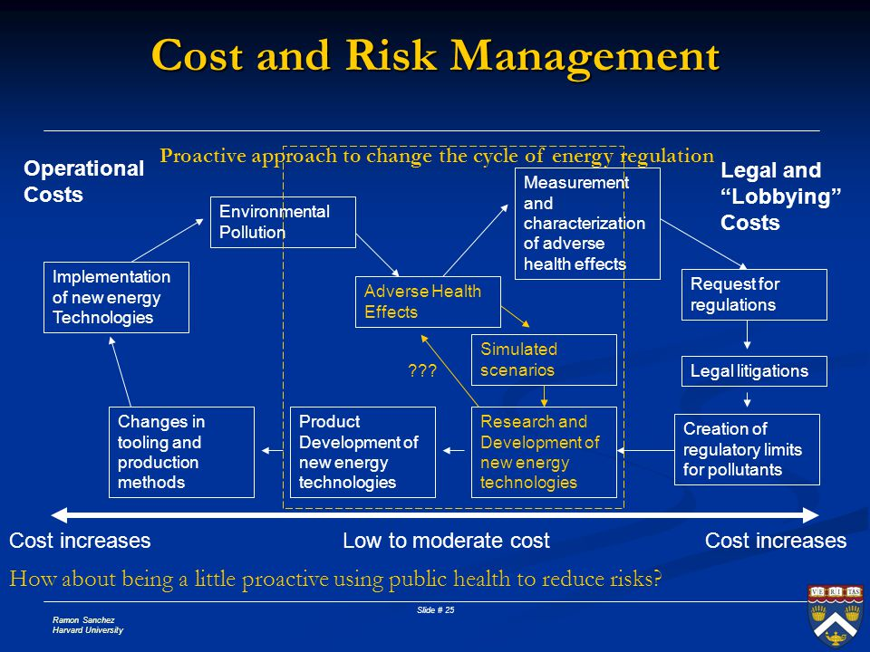 Cost and Risk Management