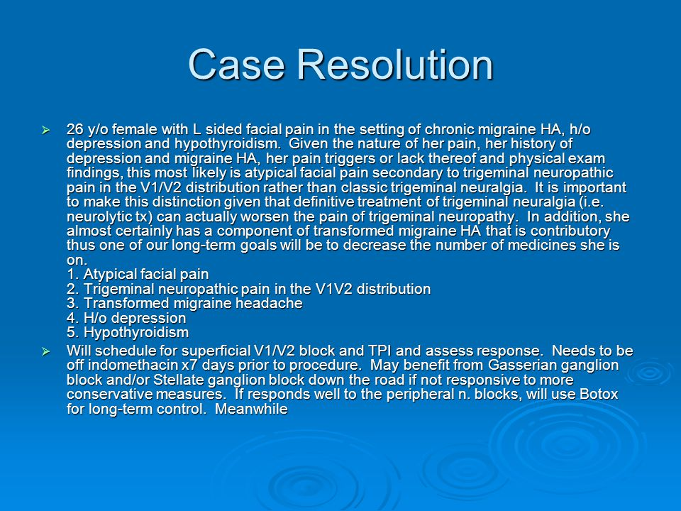 Case Resolution