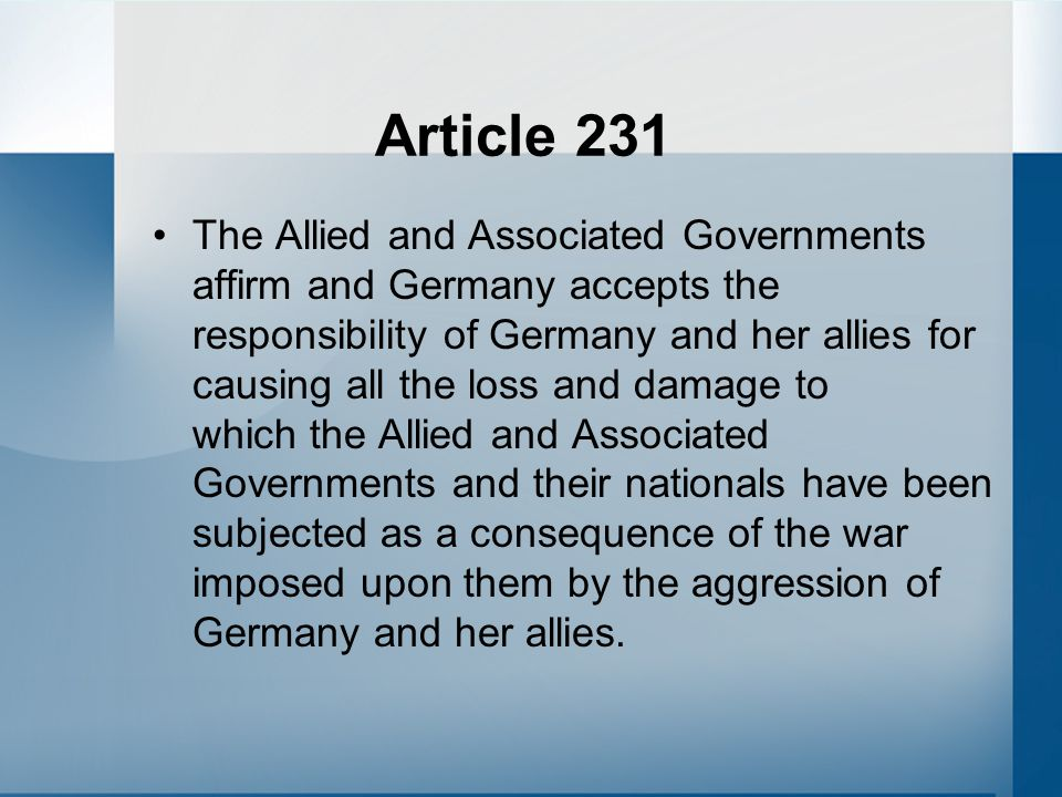 Article 231