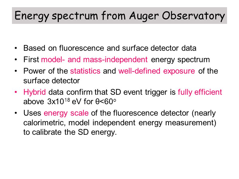 Energy spectrum from Auger Observatory