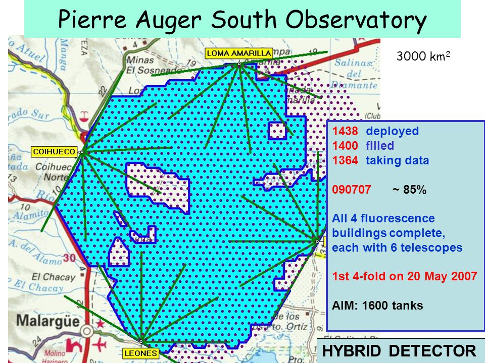 Pierre Auger South Observatory