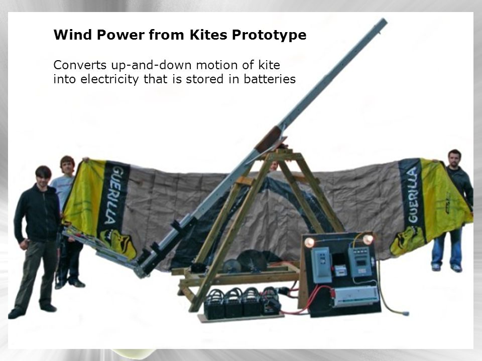 Wind Power from Kites Prototype