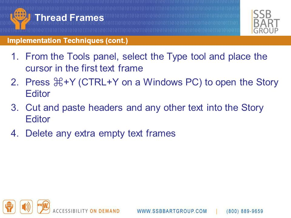 Press ⌘+Y (CTRL+Y on a Windows PC) to open the Story Editor
