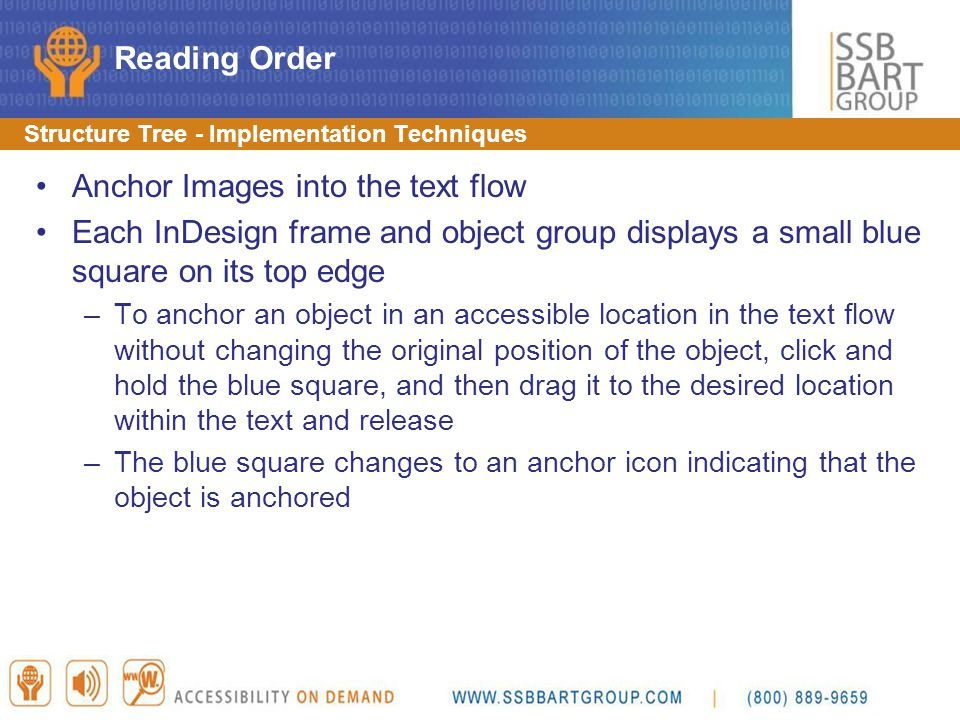 Anchor Images into the text flow