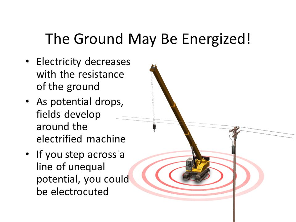 The Ground May Be Energized!