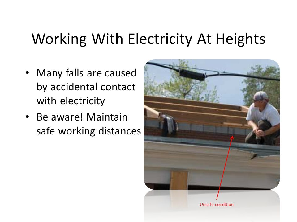 Working With Electricity At Heights