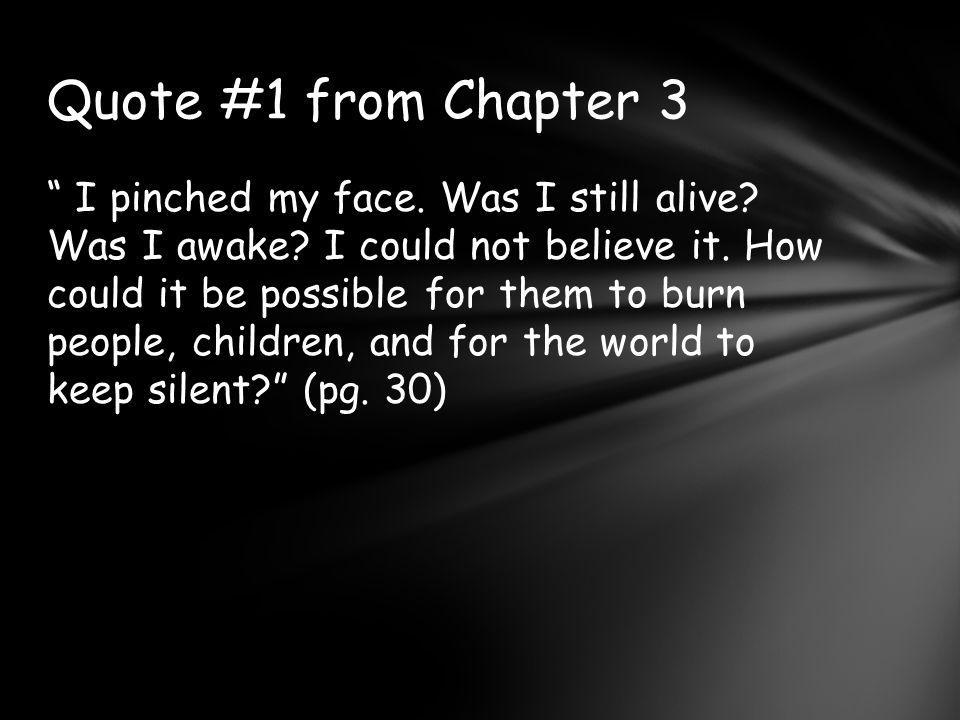 Quote #1 from Chapter 3
