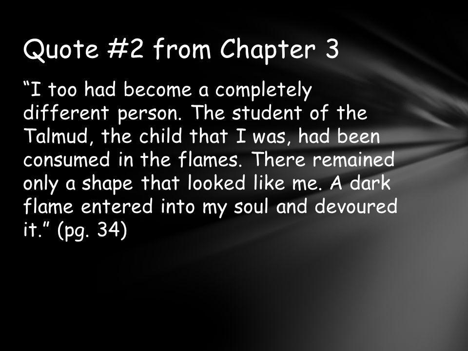 Quote #2 from Chapter 3