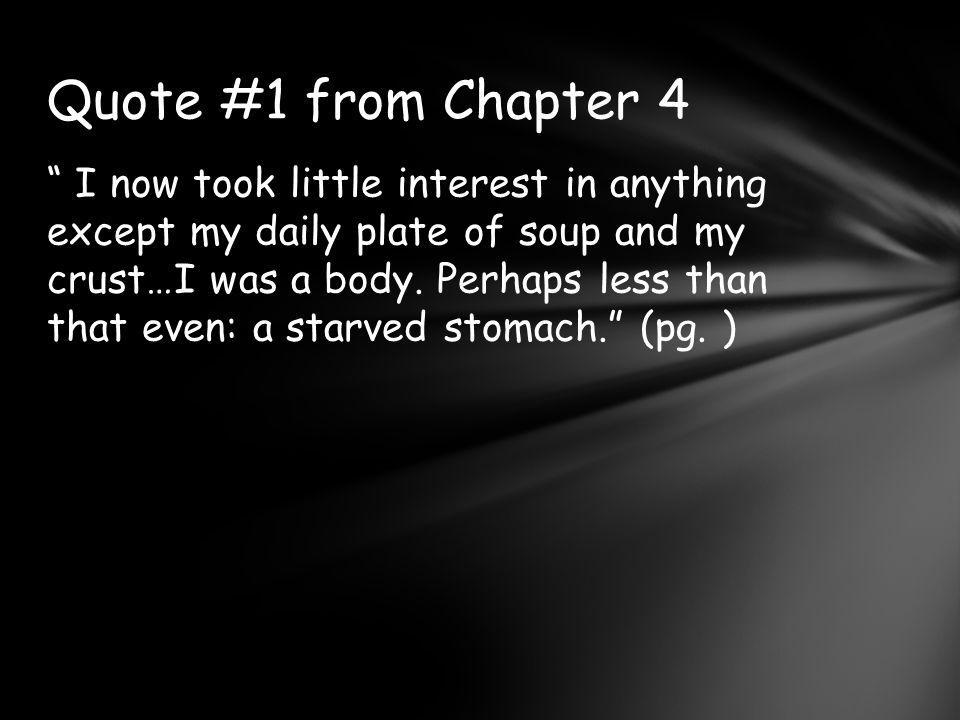 Quote #1 from Chapter 4