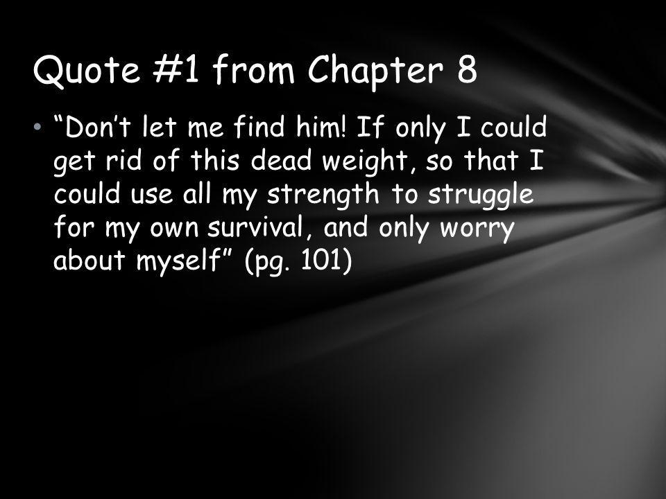 Quote #1 from Chapter 8