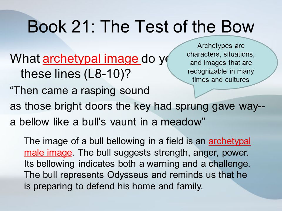 Book 21: The Test of the Bow