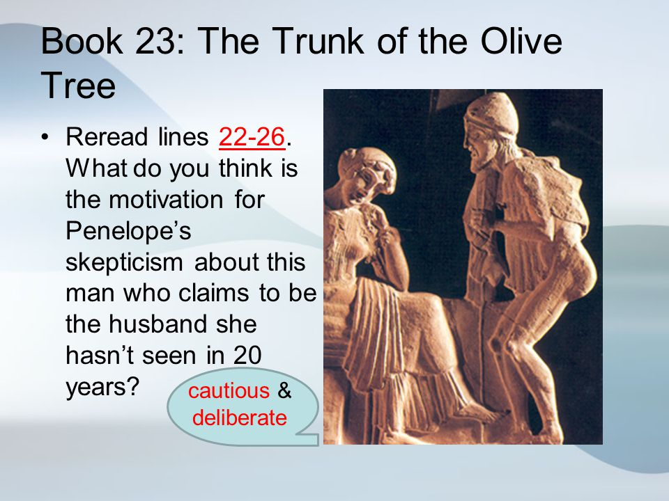 Book 23: The Trunk of the Olive Tree