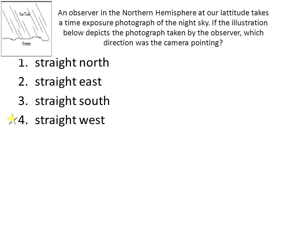 straight north straight east straight south straight west