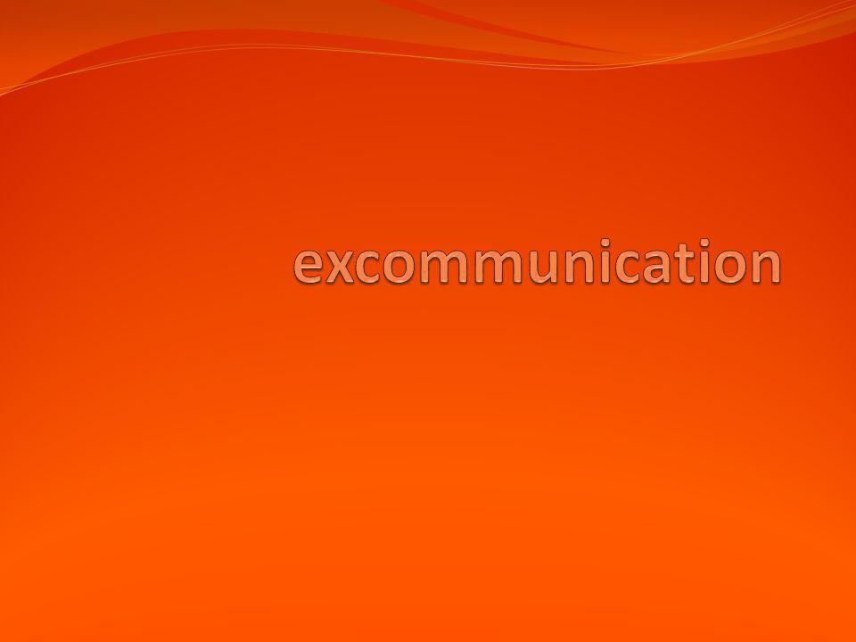 excommunication