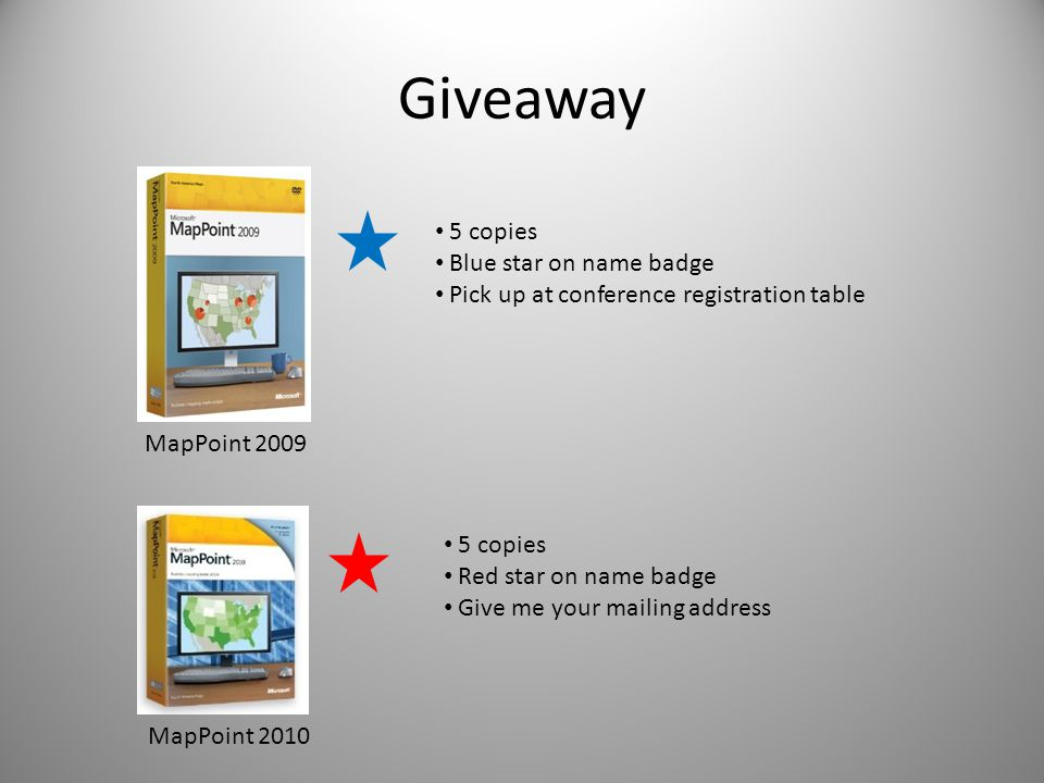 Giveaway 5 copies Blue star on name badge