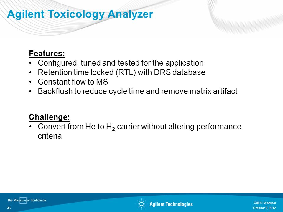 Agilent Toxicology Analyzer
