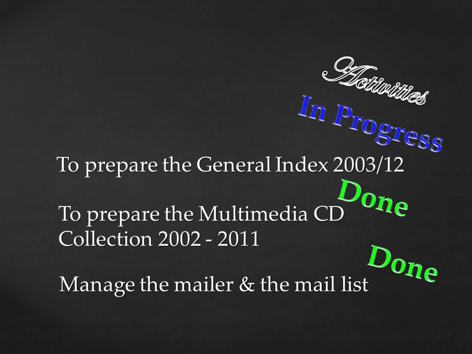 Manage the mailer & the mail list