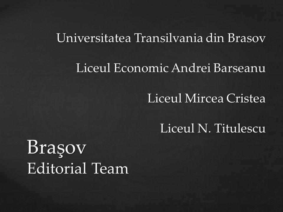 Braşov Editorial Team Universitatea Transilvania din Brasov