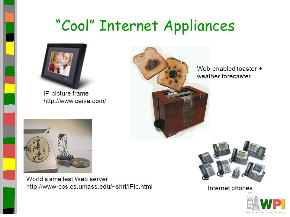 Cool Internet Appliances