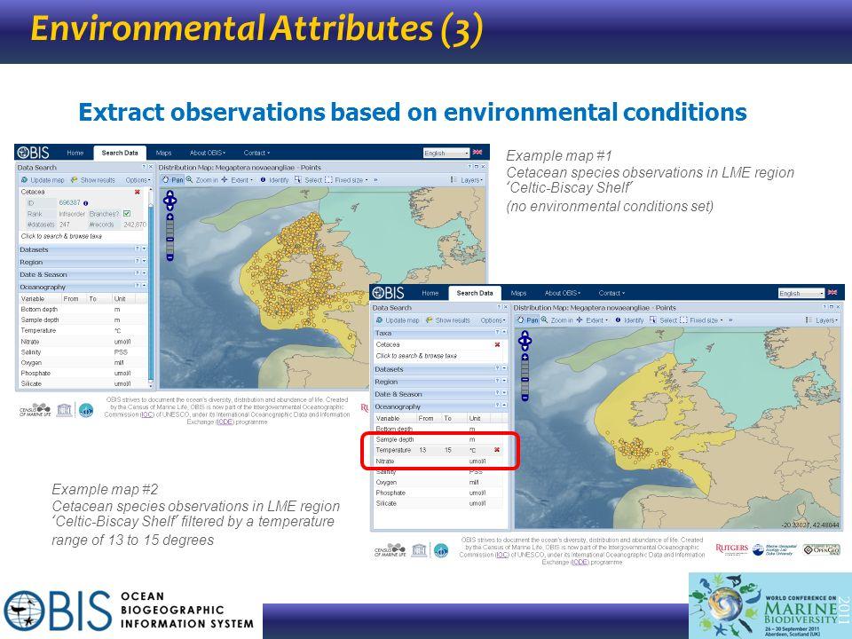 Environmental Attributes (3)