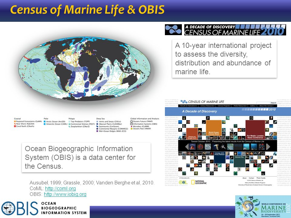 Census of Marine Life & OBIS