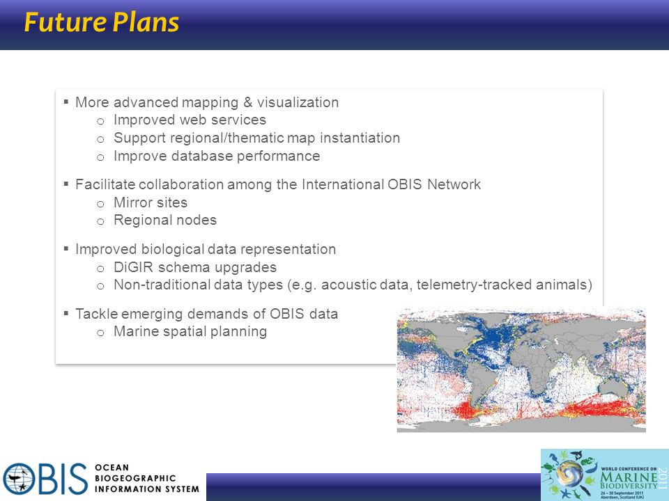 Future Plans More advanced mapping & visualization