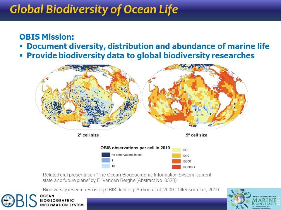 Global Biodiversity of Ocean Life