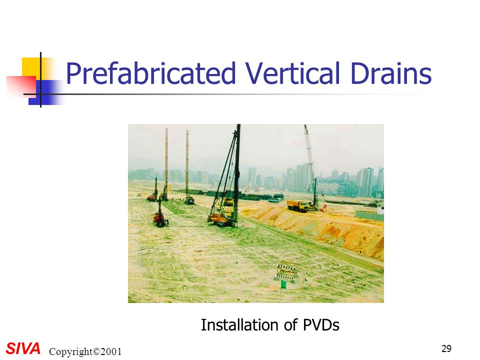 Prefabricated Vertical Drains