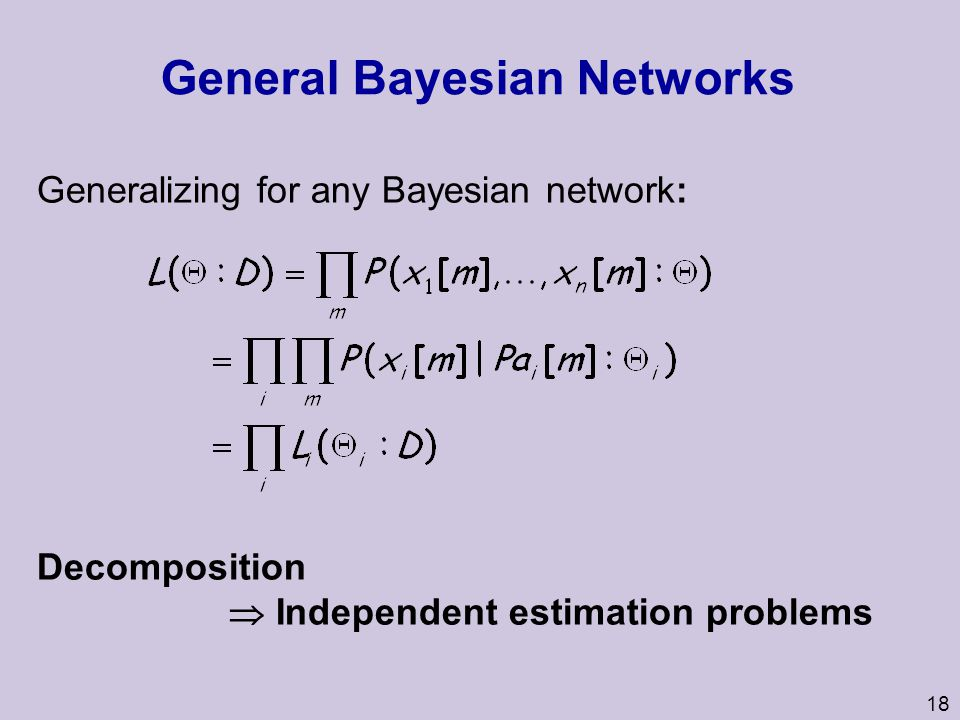 General Bayesian Networks