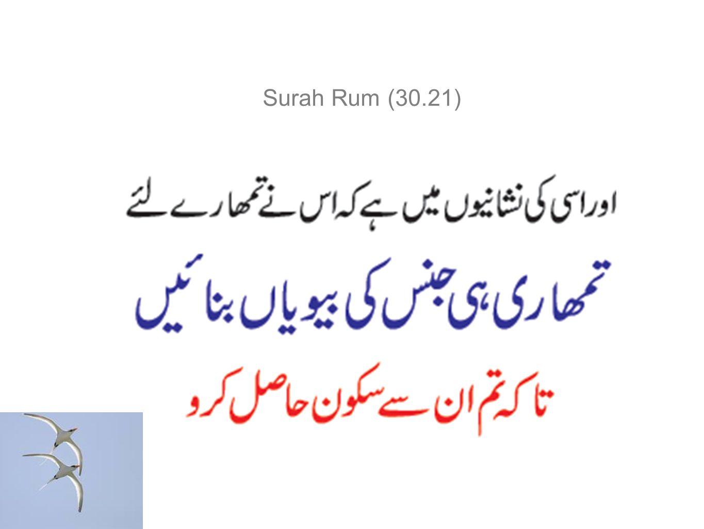 Surah Rum (30.21)