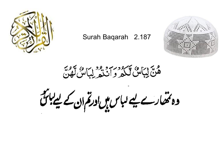Surah Baqarah 2.187