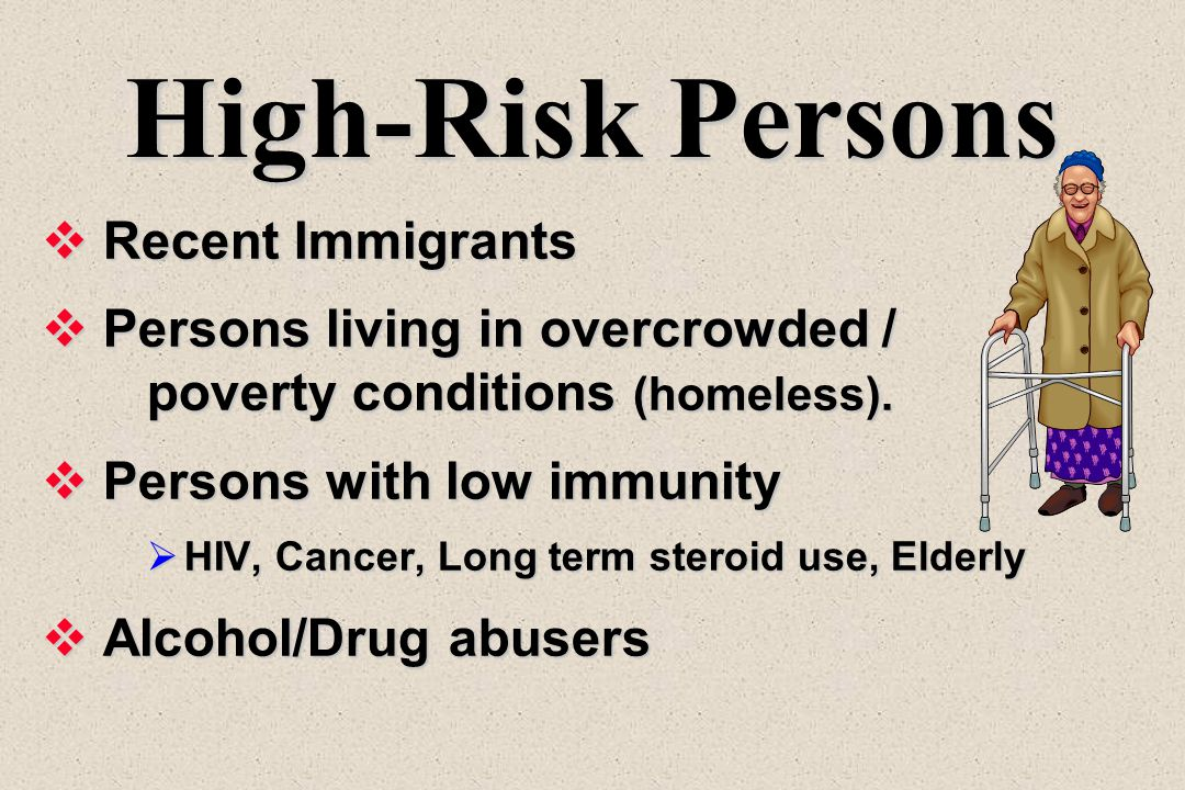 High-Risk Persons Recent Immigrants