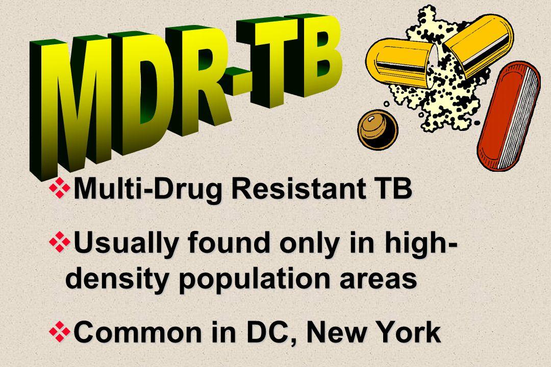 Multi-Drug Resistant TB