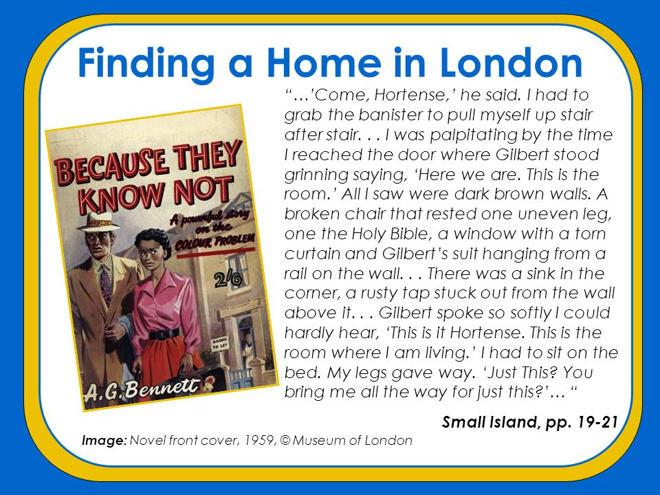 Finding a Home in London