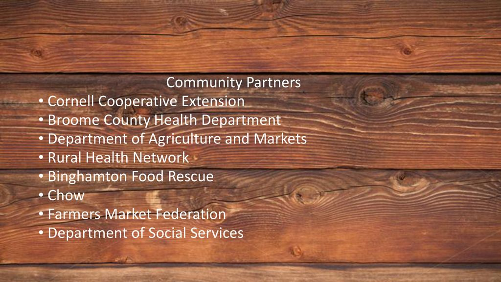 FARMERS MARKETS AND SNAP/EBT - ppt download