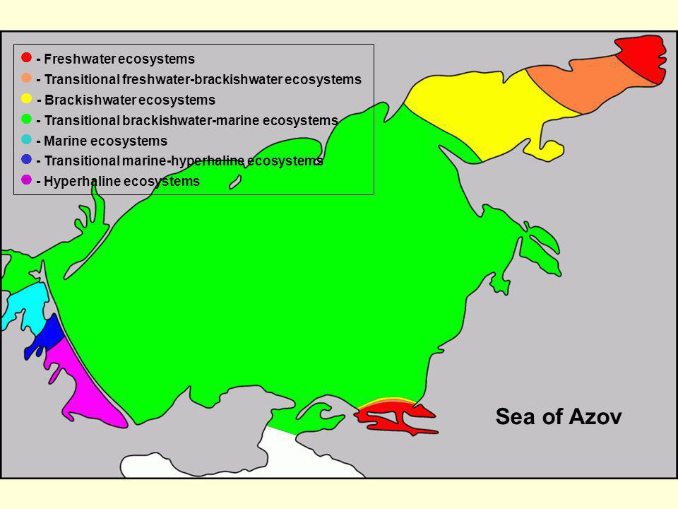 Sea of Azov  - Freshwater ecosystems