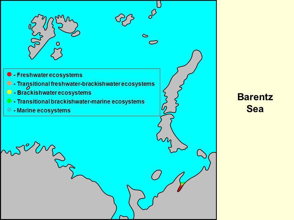Barentz Sea  - Freshwater ecosystems