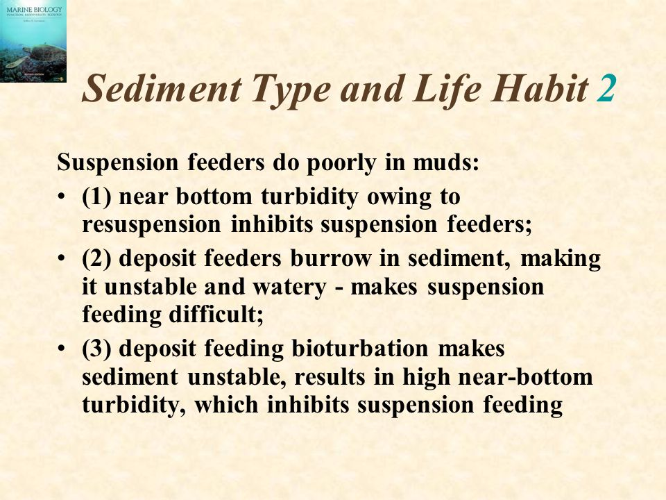 Sediment Type and Life Habit 2