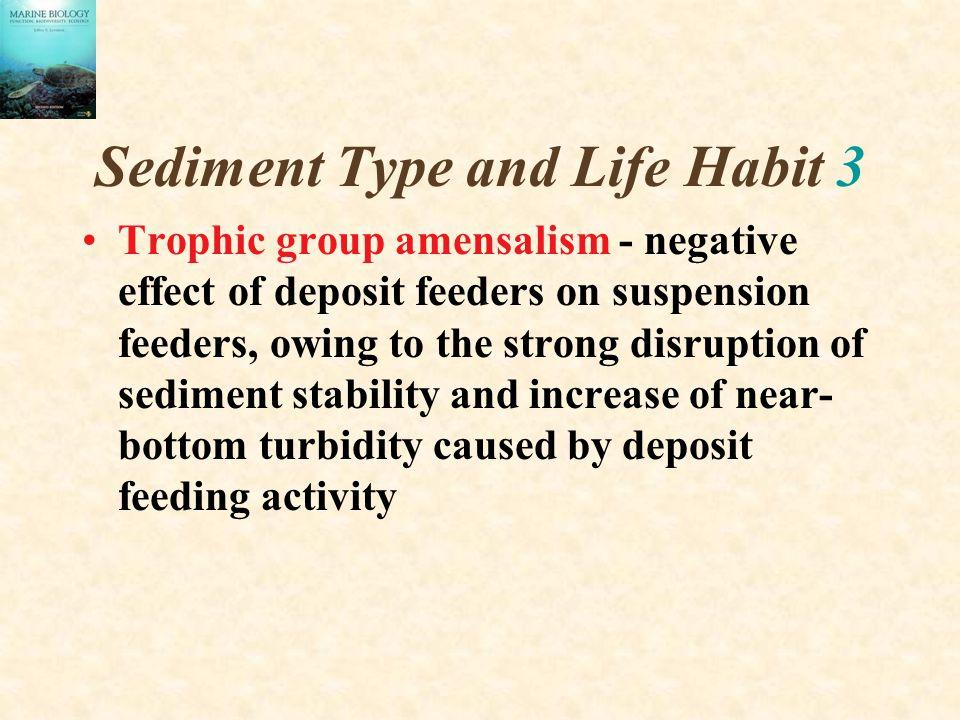 Sediment Type and Life Habit 3