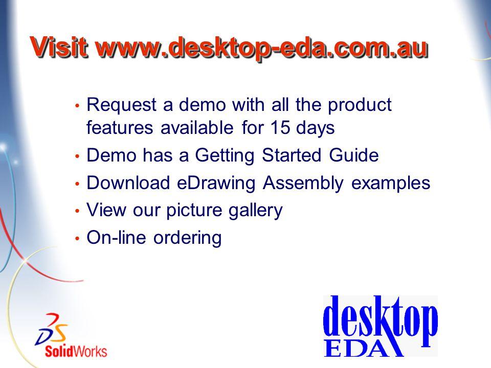 Visit www.desktop-eda.com.au