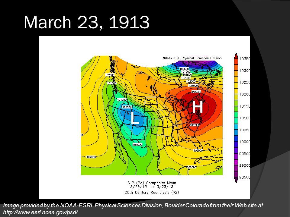 March 23, 1913 H. L.